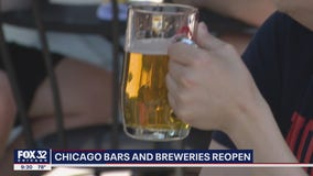 Bars, breweries in Chicago reopen for outdoor service