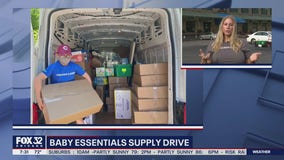 Community comes together for baby essentials supply drive