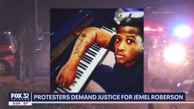 Protesters demand justice for Black security guard killed by police