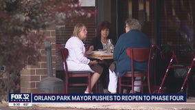 Orland Park wants to move to Phase 4 of Pritzker's reopening plan on Friday