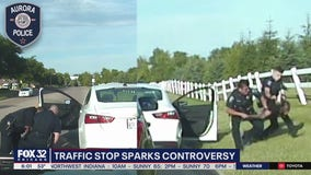 Aurora police release dashcam video of traffic stop, arrests
