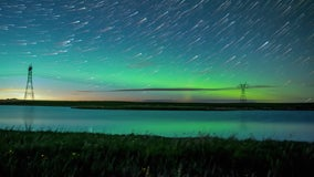 Canadian photographer captures breathtaking time-lapse of aurora borealis