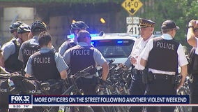 1,200 extra Chicago police officers to be deployed over July 4 weekend