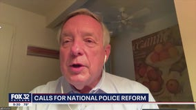 Senator Durbin apologizes to Tim Scott for 'token' comment on police reform bill