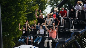 Roller coaster tests show that masks stay on, even on the craziest rides