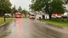 Lightning strike starts fire in attic of Gurnee townhome