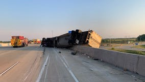 Intoxicated driver swerves in front of semi, causing crash on I-94 in southern Wisconsin: police
