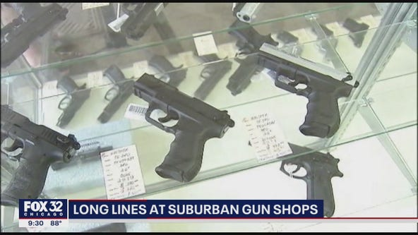 Gun sales skyrocket amid unrest in Illinois, across the nation