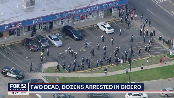 2 killed, over 60 arrested in Cicero as protests turn violent