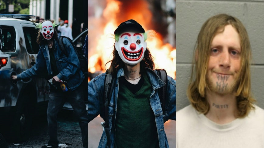 Chicago man who allegedly wore Joker mask during protest charged with setting fire to police vehicle