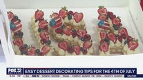 Easy, tasty dessert decorating tips for July 4th