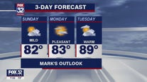 Sunday morning forecast for Chicagoland on July 12th