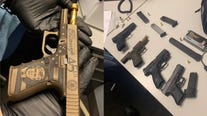 Trump-themed gun among 17 firearms seized by Chicago police over holiday weekend