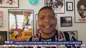 JC Brooks showcases Chicago's beauty in the Verizon Staycation Roadtrip