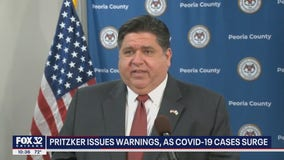 Pritzker's COVID warning for Illinois: 'Things are not heading in the right direction'
