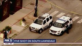 5 shot in Lawndale