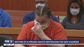JoAnn Cunningham who killed 5-year-old son AJ Freund begs judge for mercy