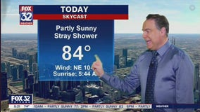 Morning forecast for Chicagoland on July 30th