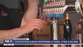 Chicago bars won't be allowed to serve alcohol indoors starting Friday, Lightfoot announces