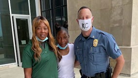 Out-of-work mom gifts lottery winnings to officer shot in the line of duty because of daughter