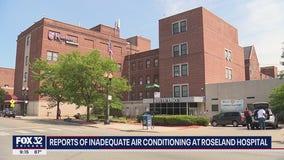 Reports of inadequate air conditioning at Roseland hospital amid stifling heat