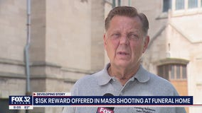 $15K reward offered in mass shooting at Chicago funeral home