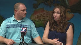 Armed white couple who drew gun on black mother and daughter tell their side
