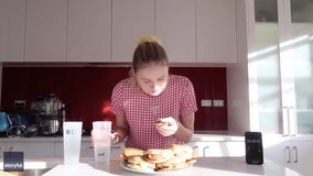 Competitive eater medical student devours stack of Whopper burgers in just 17 minutes