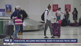 Chicago's emergency travel order extended to 4 more states