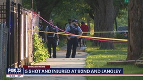 1 killed, 4 wounded in South Side drive-by: Chicago police