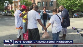 Two children shot in Chicago's Auburn Gresham neighborhood