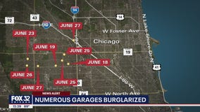 Police warn NW Side residents of rash of garage burglaries