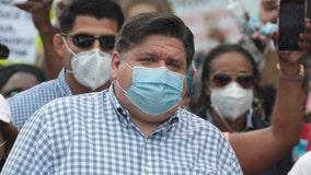 Pritzker lawsuit seeks face mask order for all Illinois schools