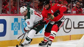 Brent Seabrook won't travel with Blackhawks for playoffs