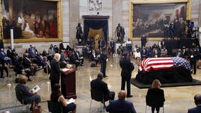 Rep. John Lewis lies in state at Capitol Rotunda, as lawmakers memorialize civil rights icon