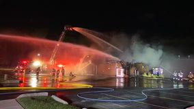 Orland Park hot dog restaurant destroyed by fire