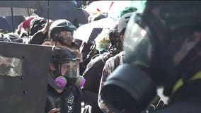 Seattle police declare riot after 20-plus officers injured, 'explosive' fires set in Capitol Hill