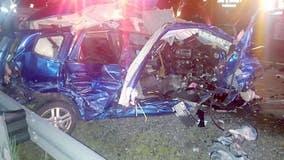 Girl, 14, dies in crash near Crown Point