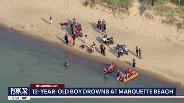 Boy, 12, drowns at Marquette Beach in Gary