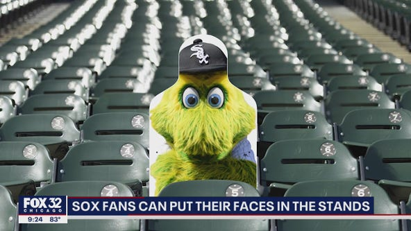White Sox fans can purchase cardboard cutout of themselves to have at opening home games