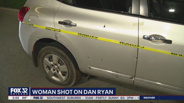 Woman shot on Dan Ryan; SB lanes closed at 47th