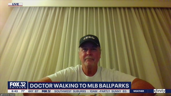 Doctor walks MLB stadiums for caregivers and patients