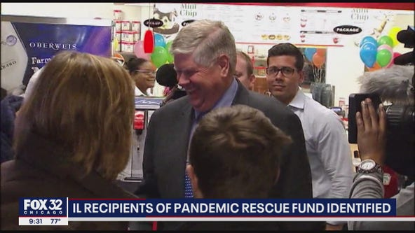 Illinois recipients of federal coronavirus bailout fund identified