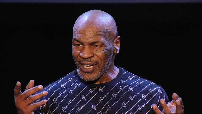 Mike Tyson Performs His One Man Show