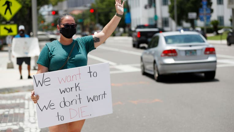 Hillsborough County Florida Teachers Protest Reopening Schools Amid Pandemic
