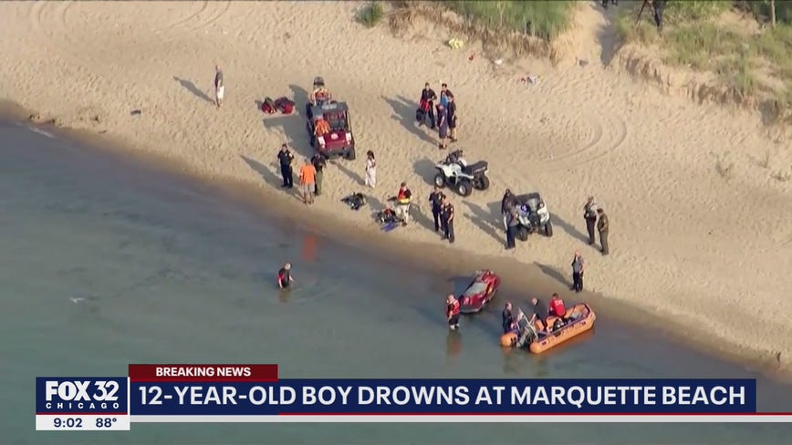 Illinois boy, 12, drowns at Marquette Beach in Gary