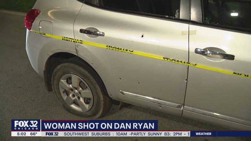 Woman shot on Dan Ryan; SB lanes closed at 47th