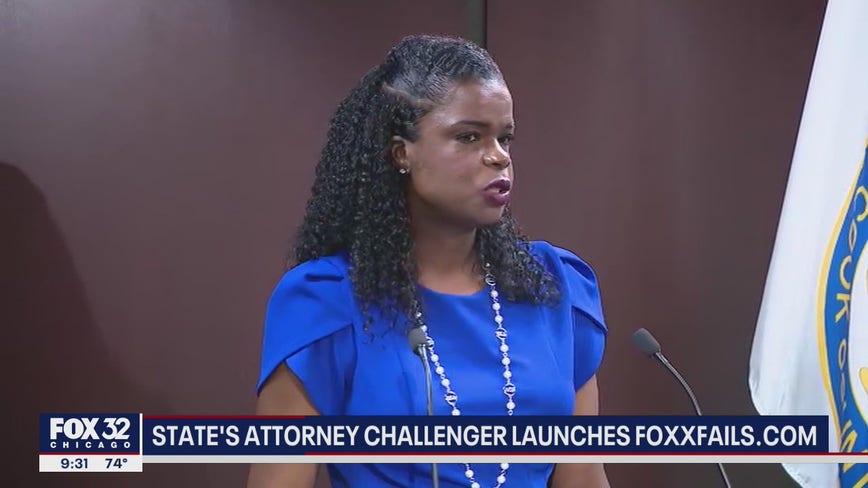 Republican candidate challenging Kim Foxx launches FoxxFails.com