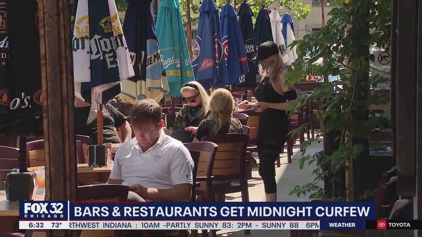 Chicago bars and restaurants get midnight curfew as new coronavirus cases rise
