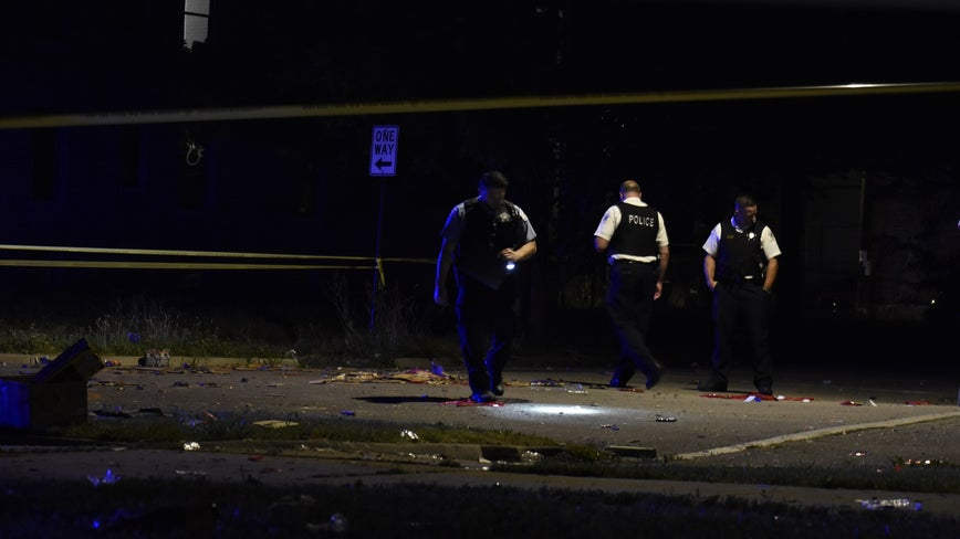 72 shot, 13 fatally, over Fourth of July weekend in Chicago so far